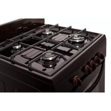 Плита Greta 600-12 чугун. решетки коричневая