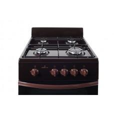 Плита газовая Greta 1470-00-17 коричневый цвет
